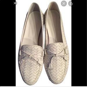 Sesto Meucci | Nicole Woven Braided Leather Loafer